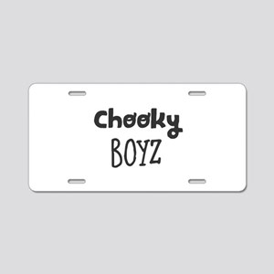 Chooky Boyz Aluminum License Plate