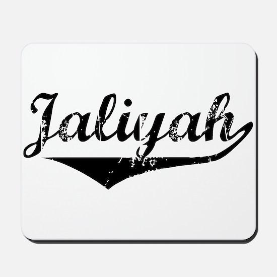 Jaliyah Vintage (Black) Mousepad