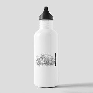 M4 SHERMAN CUTAWAY Stainless Water Bottle 1.0L