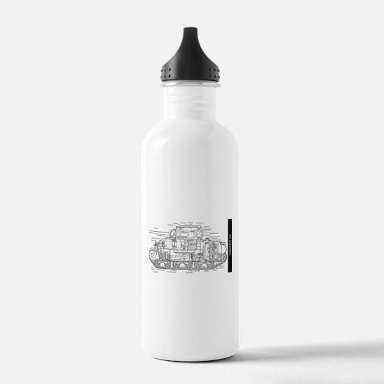 M4 SHERMAN CUTAWAY Water Bottle