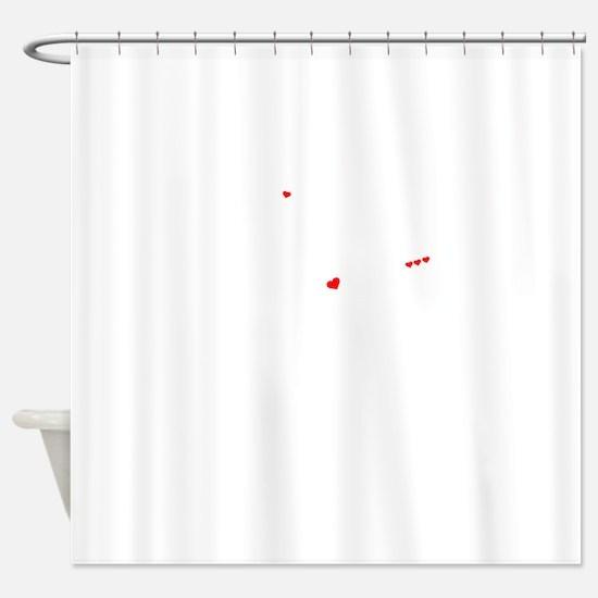 Unique Kix kix Shower Curtain