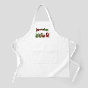 Italian Girl BBQ Apron