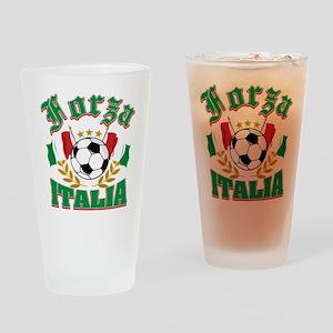forza Italia Drinking Glass