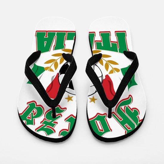 forza Italia Flip Flops