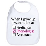 When I Grow Up (Phonologist) Bib