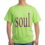 318. purple soul Green T-Shirt