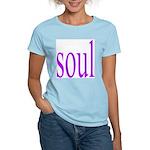 318. purple soul Women's Pink T-Shirt