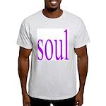 318. purple soul Ash Grey T-Shirt