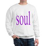 318. purple soul Sweatshirt