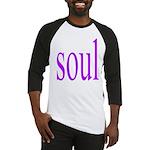318. purple soul Baseball Jersey