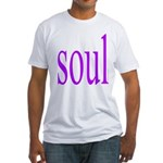 318. purple soul Fitted T-Shirt
