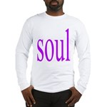 318. purple soul Long Sleeve T-Shirt