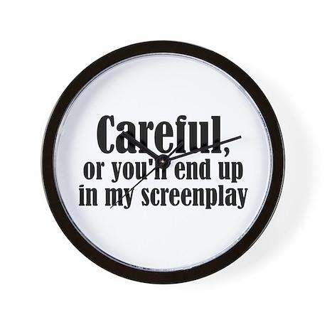Careful... screenplay - Wall Clock