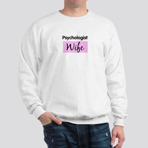 Psychologist Wife Sweatshirt