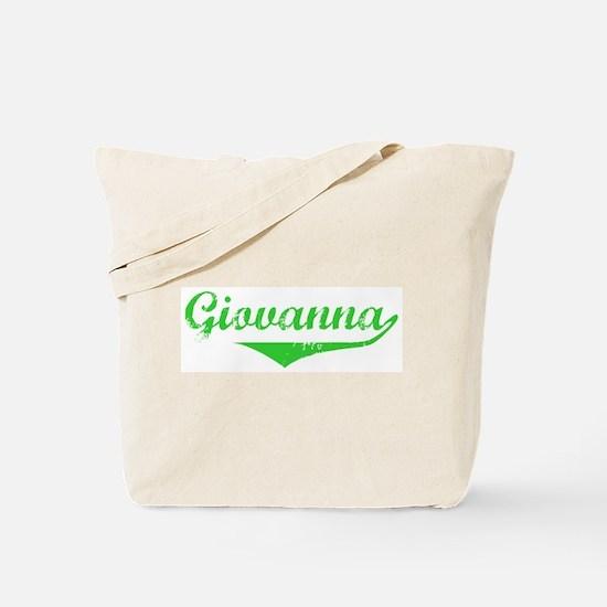 Giovanna Vintage (Green) Tote Bag