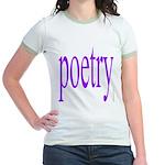 325f. poetry Jr. Ringer T-Shirt