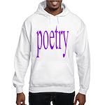 325f. poetry Hooded Sweatshirt