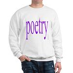 325f. poetry Sweatshirt