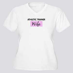ATHLETIC TRAINER Wife Women's Plus Size V-Neck T-S