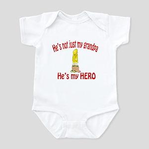 Not just my grandpa Infant Bodysuit