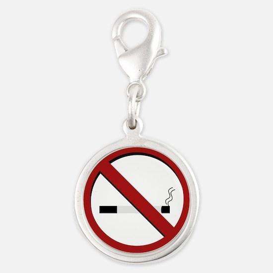 no smoking sign Charms