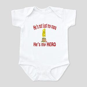 Not just my papa Infant Bodysuit