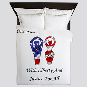 One Nation Lord and Lady Queen Duvet