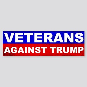 Veterans Against Trump Bumper Sticker
