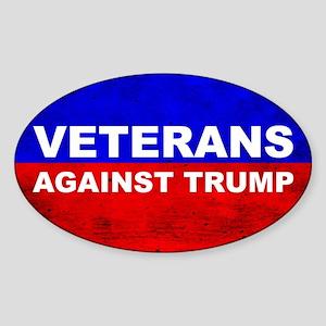 Veterans Against Trump Sticker