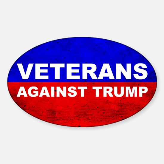Veterans Against Trump Decal