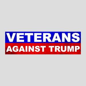 Veterans Against Trump Wall Decal