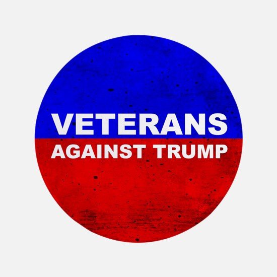 "Veterans Against Trump 3.5"" Button (100 Pack)"