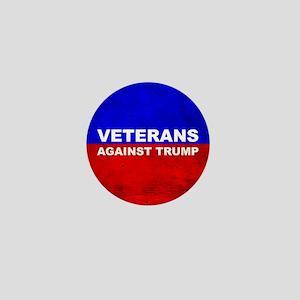 Veterans Against Trump Mini Button