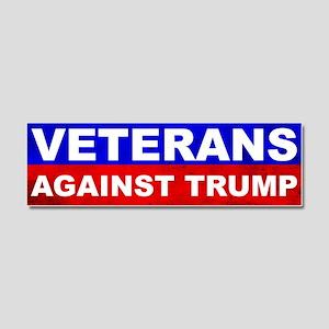 Veterans Against Trump Car Magnet 10 x 3
