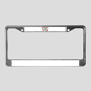 Everyone loves an Italian Girl License Plate Frame