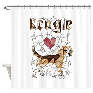 Beagles Shower Curtains