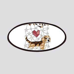 Geometric Beagle Patch