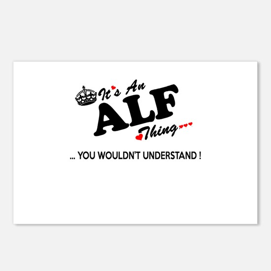 Cool Alf Postcards (Package of 8)