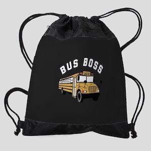 Bus Boss Drawstring Bag