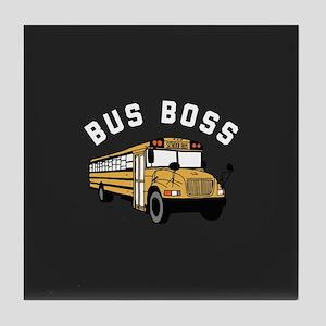 Bus Boss Tile Coaster
