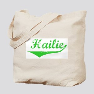 Hailie Vintage (Green) Tote Bag