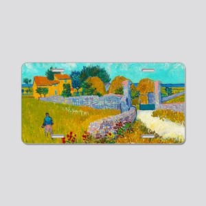 Farmhouse in Provence by Vincent van Gogh Aluminum