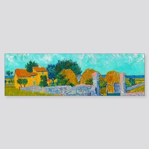 Farmhouse in Provence by Vincent van Gogh Bumper S