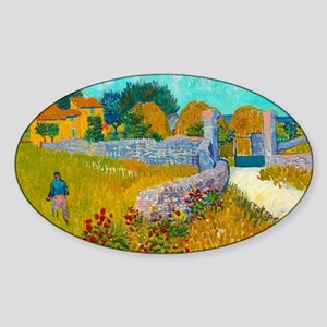 Farmhouse in Provence by Vincent van Gogh Sticker