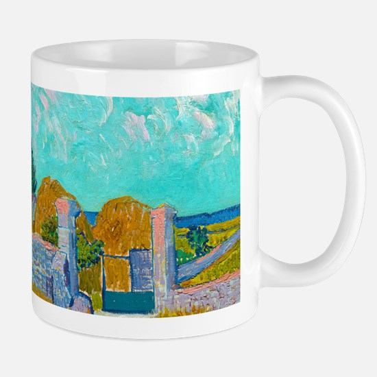 Farmhouse in Provence by Vincent van Gogh Mugs