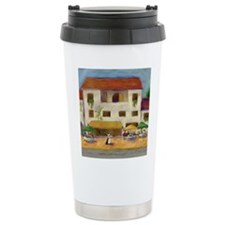 Tuscan Bistro Stainless Steel Travel Mug