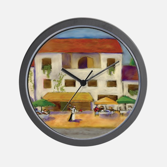 Tuscan Bistro Wall Clock