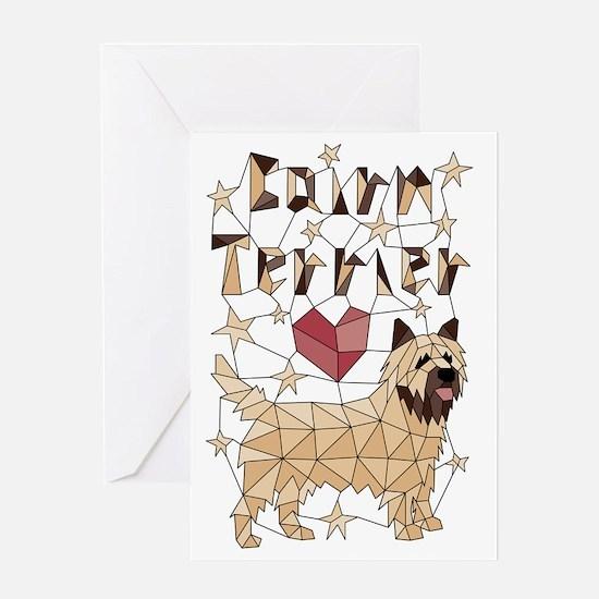 Unique Cairn terrier design Greeting Card