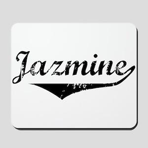 Jazmine Vintage (Black) Mousepad