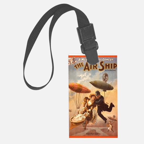 The Air Ship Luggage Tag